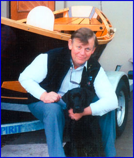 Don Hill, builder and designer of McKenzie Drift Boats.